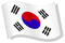 Korean wave flag
