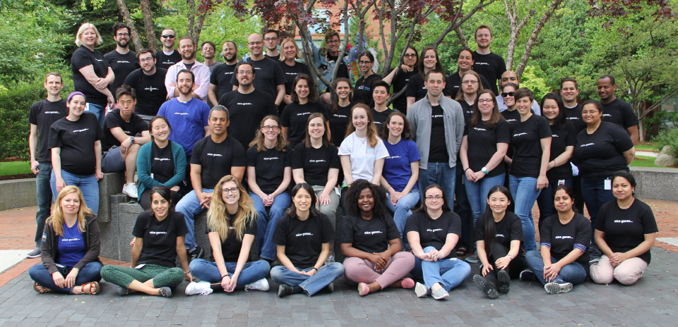 Addgene employee group photo