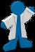 Addgene bluegene mascot icon