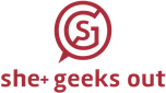 She Geeks Out logo