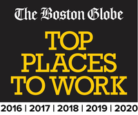 Boston Globe Top Places to Work Badge