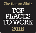 Boston Globe Top Places to Work Badge